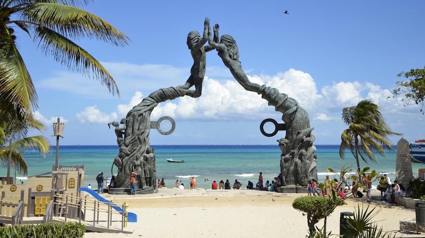 quoi faire à playa del carmen, visiter le portal maya